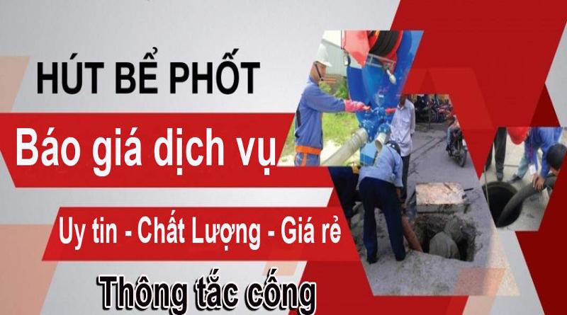 Thông nghẹt bể phốt giá rẻ nhất Sài Gòn
