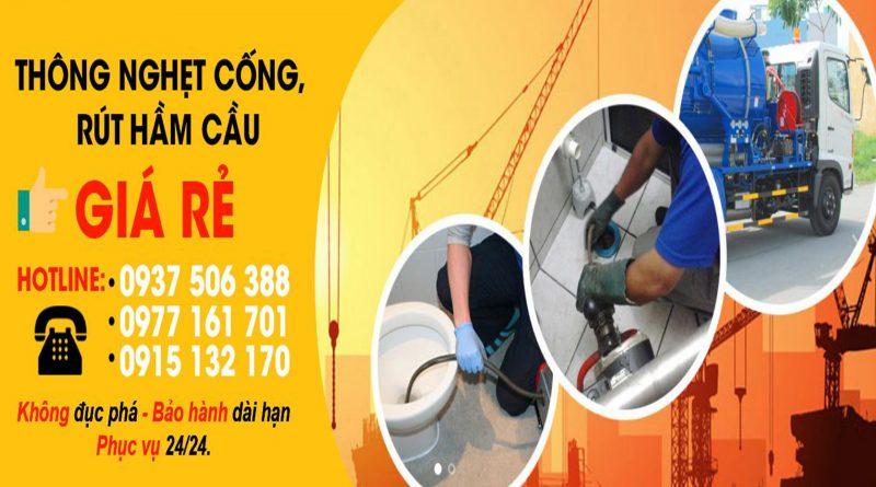 thông cống quận 7 giá rẻ tại sài gòn tphcm