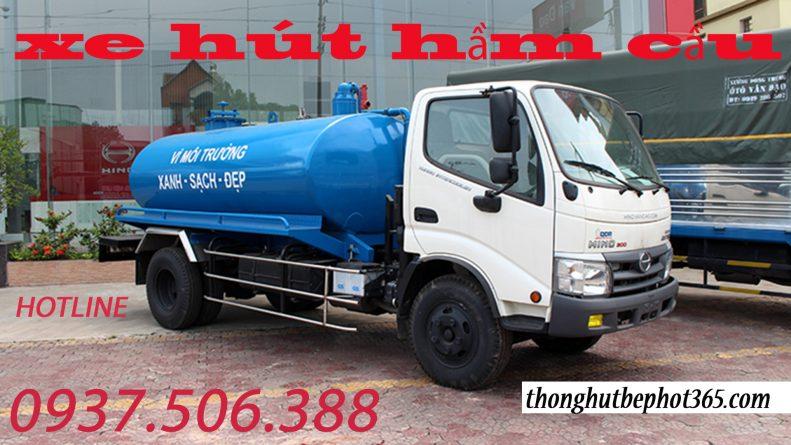 Hút hầm cầu quận 5 giá rẻ tại HCM /Hotline: 0937506 388