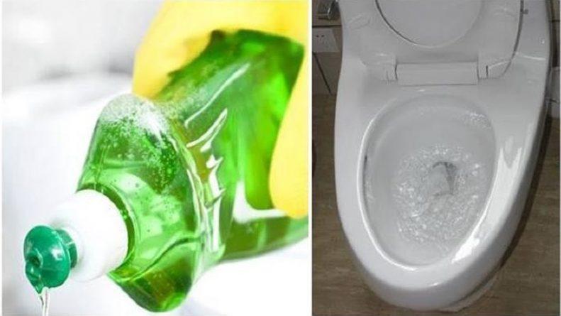 Hướng dẫn cách thông cống bằng nước rửa chén chỉ trong vài phút