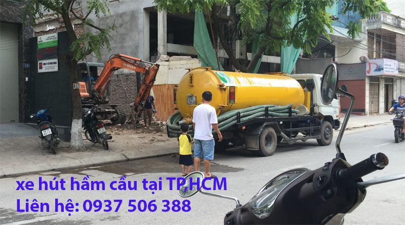 Hút hầm cầu thông cống nghẹt giá rẻ uy tín chuyên nghiệp p/v 24/7