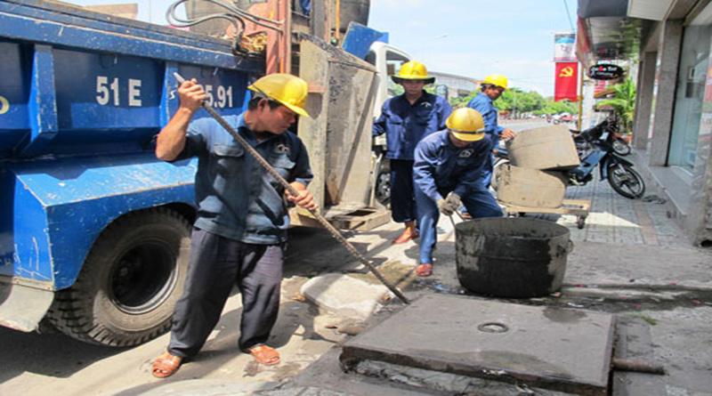 Thông cống nghẹt tại quận 2 trên phường Cát Lái tại nhà giá rẻ