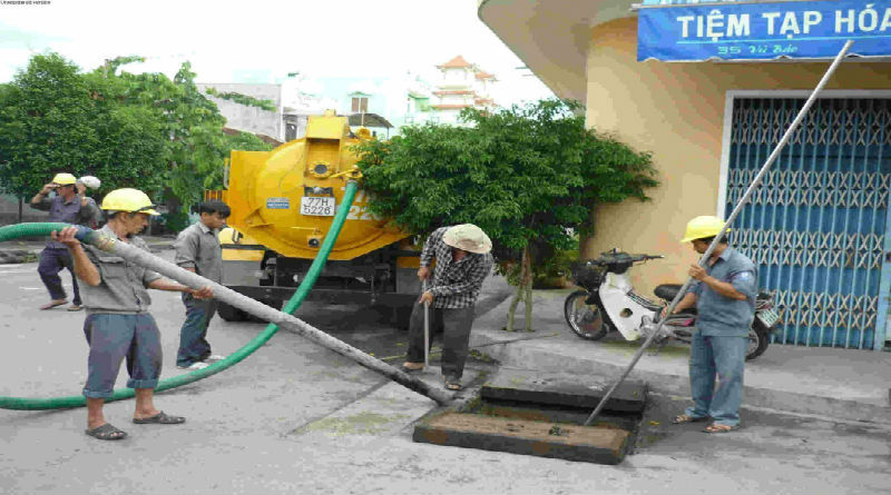 Thông cống nghẹt giá rẻ tại phường Cầu Ông Lãnh của quận 1-Liên hệ 0915.132.170